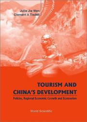 Cover of: Tourism and China's Development