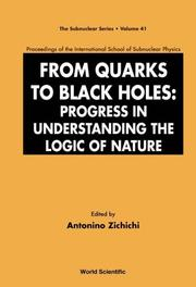 Cover of: From quarks to black holes