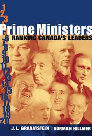 Cover of: Prime Ministers: Ranking Canada's Leaders