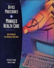 Cover of: Office Procedures in Managed Health Care with Data Disk for MediSoft for Windows