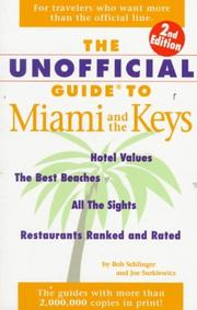 Cover of: The Unofficial Guide to Miami and the Keys