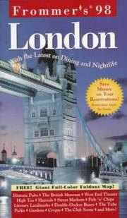 Cover of: Frommer's London '98
