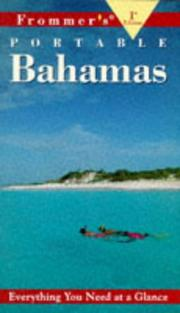 Cover of: Frommer's Portable Bahamas, 1st Ed.