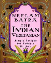 Cover of: The Indian Vegetarian