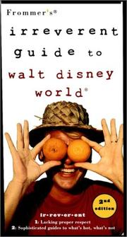 Cover of: Frommer's Irreverent Guide to Walt Disney World