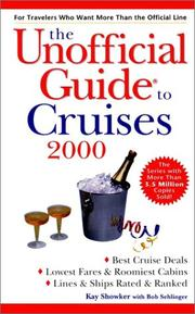 Cover of: Unofficial Guide to Cruises 2000