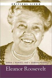 Cover of: Eleanor Roosevelt (Critical Lives)