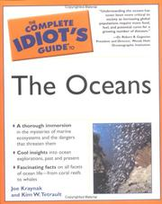 Cover of: The Complete Idiot's Guide to the Oceans