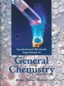 Cover of: Standard and Microscale Experiments in General Chemistry