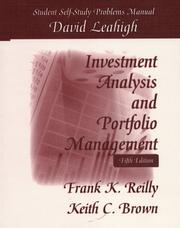 Cover of: Investment Analysis & Portfolio Management