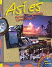 Cover of: Asi Es