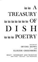 Cover of: A Treasury of Yiddish Poetry