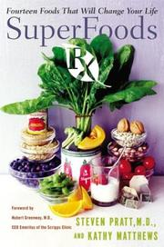 Cover of: SuperFoods Rx