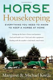 Cover of: Horse Housekeeping
