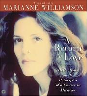 Cover of: A Return to Love CD