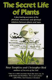 Cover of: The Secret Life of Plants