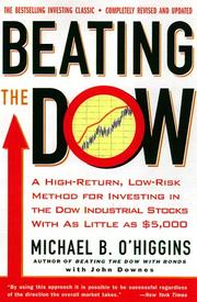 Cover of: Beating the Dow (Revised and Updated)