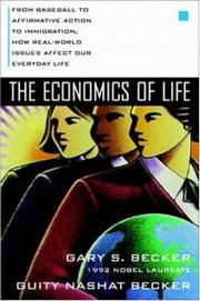 Cover of: The Economics of Life