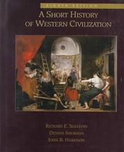 Cover of: A Short History of Western Civilization, Combined