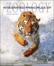 Cover of: Integrated Principles of Zoology