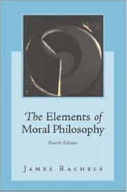 Cover of: The Elements of Moral Philosophy