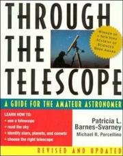 Cover of: Through the Telescope