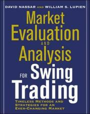 Cover of: Market Evaluation and Analysis for Swing Trading