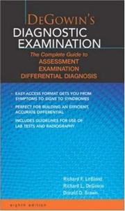 Cover of: DeGowin's Diagnostic Examination