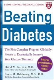 Cover of: Beating Diabetes (A Harvard Medical School Book)
