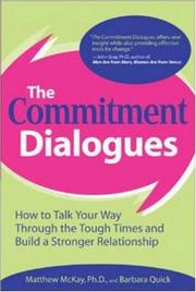 Cover of: The Commitment Dialogues