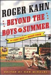 Cover of: Beyond the Boys of Summer