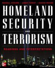 Cover of: Homeland Security and Terrorism (The Mcgraw-Hill Homeland Security Series)