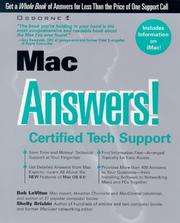 Cover of: Mac Answers! Certified Tech Support