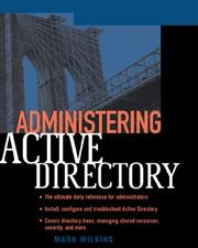 Cover of: Administering Active Directory