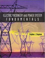 Cover of: Electric Machinery and Power System Fundamentals