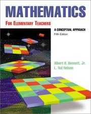 Cover of: Math for Elementary Teachers