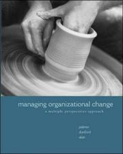 Cover of: Managing Organizational Change