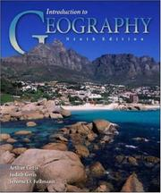 Cover of: Introduction to Geography with OLC Bind in card