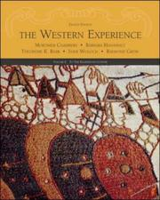 Cover of: The Western Experience, Volume I, with Powerweb