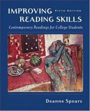 Cover of: Improving Reading Skills