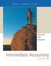 Cover of: Intermediate Accounting Volume 2 with Coach CD-ROM & PowerWeb