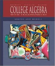 Cover of: Mandatory Package:  College Algebra with Trigonometry