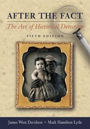 Cover of: After the Fact, with Primary Source Investigator CD