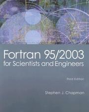 Cover of: Fortran 95/2003 for Scientists & Engineers