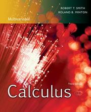 Cover of: Calculus, Multivariable