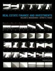 Cover of: Real Estate Finance & Investments (Real Estate Finance and Investments)