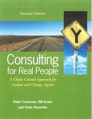 Cover of: Consulting for Real People