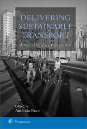 Cover of: Delivering Sustainable Transport