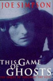 Cover of: This game of ghosts