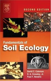 Cover of: Fundamentals of Soil Ecology